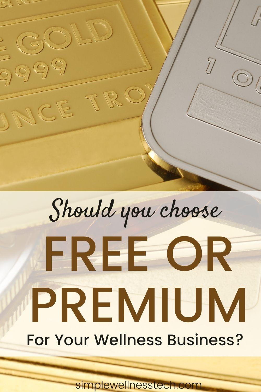 free or premium tools
