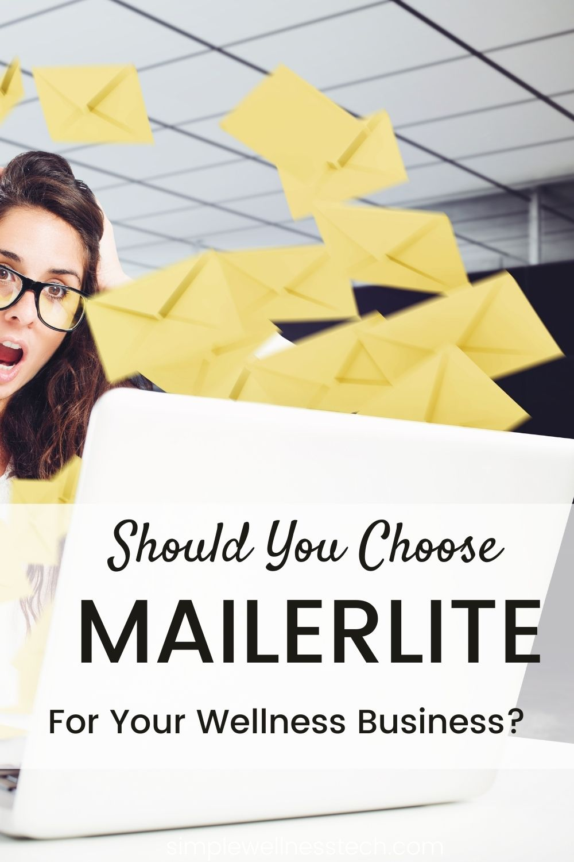 mailerlite for wellness business