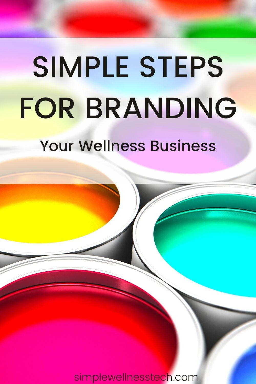 wellness business branding