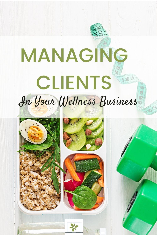 wellness business client management