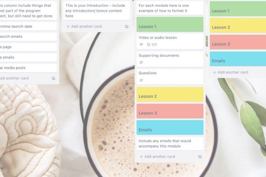 using trello to plan wellness programs